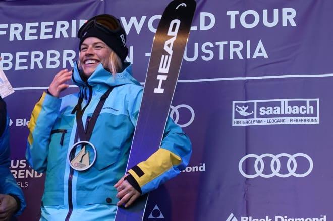 NORGES BESTE FRIKJØRER: Hedvig Wessel - her fra da hun vant FWT-runden i Fieberbrun i februar. Arkivfoto: Tore Meirik