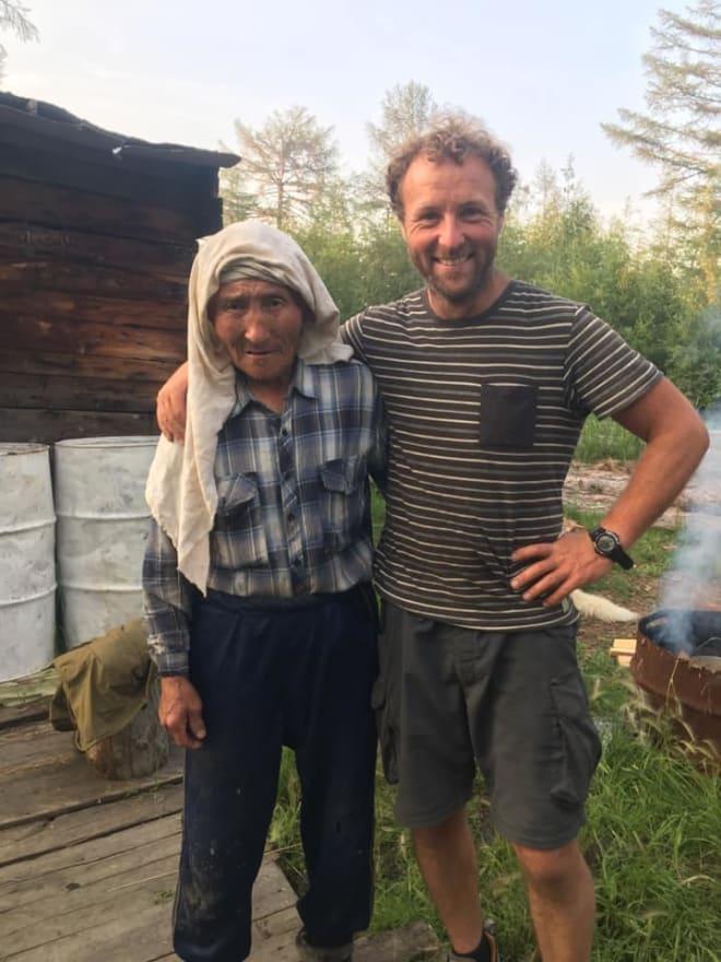 FINE FOLKEMØTER: Det er lite turisme langs elva og få som snakker engelsk. Men imøtekommenheten er stor til tross for språkbarrierer, forteller Kjartan Bergsvåg. Foto: Privat
