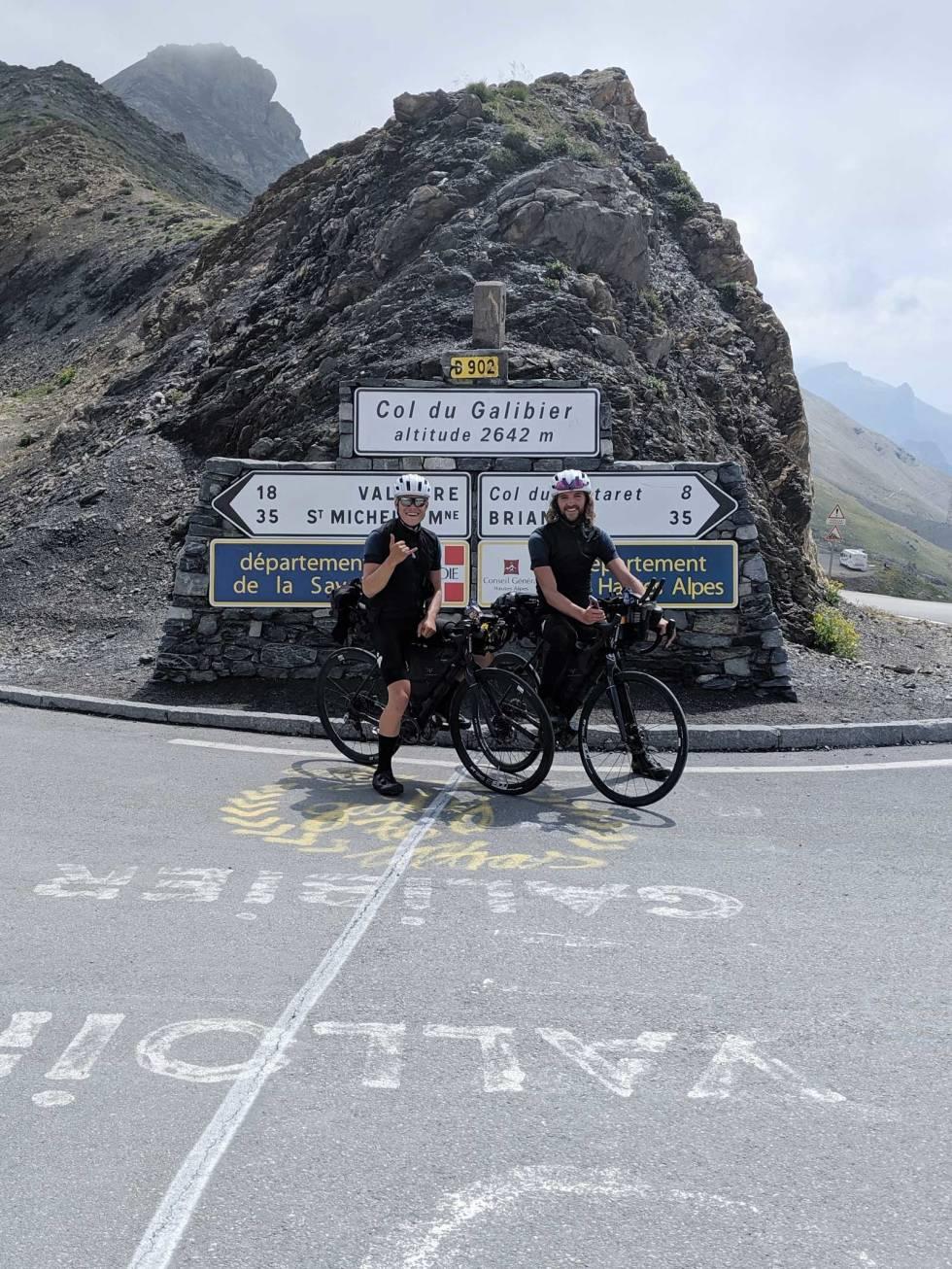 Nok et pass: Store deler av konkurransen foregikk i Alpene. Col du Galibier utgjorde snaue 2000 av nærmere 40000 høydemeter totalt.