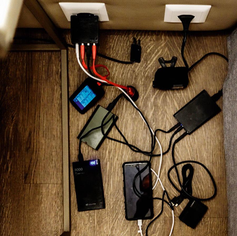 Restitusjon: Den daglige ladeprosessen av batterier kunne ikke under noen omstendigheter unngås.
