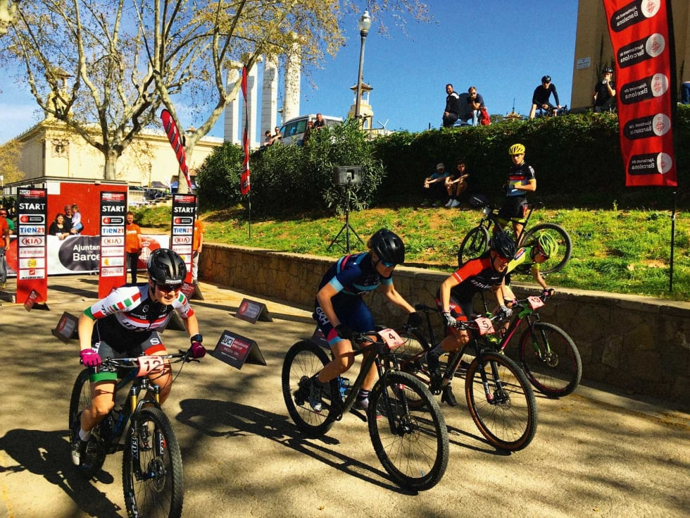 Heat for heat: Sprint på sykkel er ikke ulikt det vi er vant til å se i langrenn, med delfinaler som rytterne må ta seg gjennom.