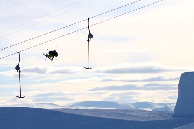 HEISKØYRAR: Kjem Kim Boberg til å velge norske skianlegg til vinteren, eller vel han å halde seg heime Sverige? Foto: Tore Meirik