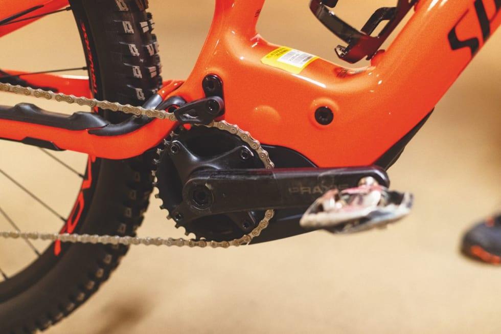 HELINTEGRERT: Den lille og lette Brose-motoren gjør lite av seg rent visuelt.