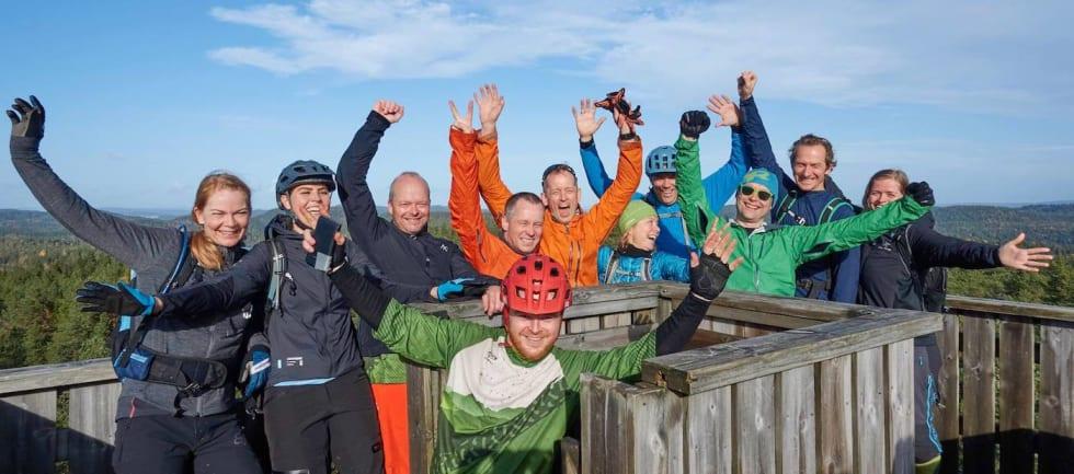 GTG Gulljakt i Østmarka Oct 2017 group - Bjørn Enoksen 1400x