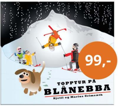 Topptur på Blånebba: En morsom barnebok for aktive foreldre som ønsker å involvere barna i fjellets gleder