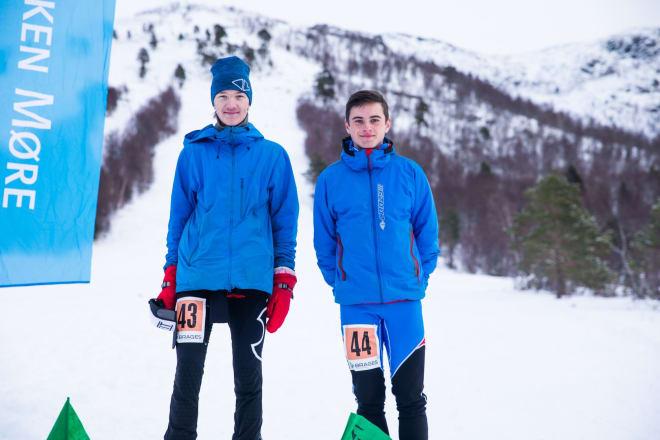 Eirik Kårvatn og Edvard Sætran Solli. Foto: Haakon Lundkvist