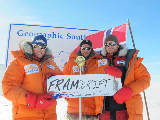 VISES: Førstemann til Sydpolen (dokumentar), historien bak kappløpet i Antarktis i 2012, 100 år etter Amundsen og Scott. Regissør: Svein Arne Brusletto