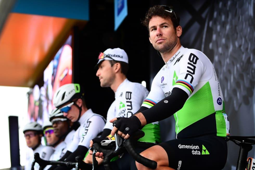 BLIR HJEMME: Mark Cavendish skulle egentlig starte Tour of Norway, men briten er visstnok fortsatt sliten etter Tour of California. Foto: Cor Vos.