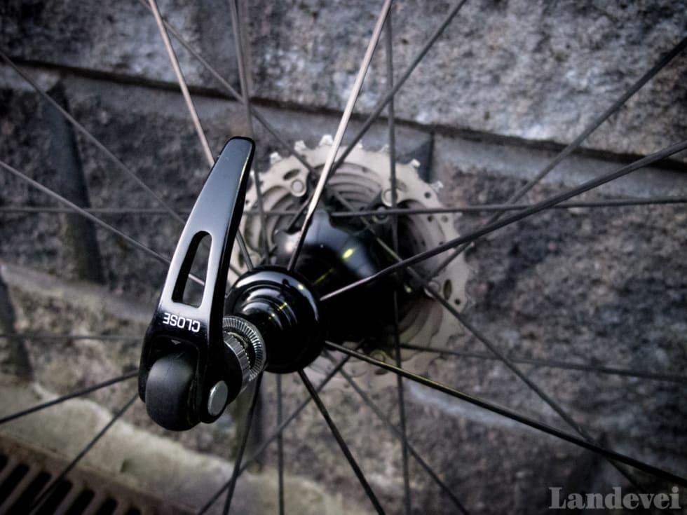 INNAFOR: Hurtigkoblingene til hjulsettet er gode. I sin prisklasse er hjulene et godt kjøp.