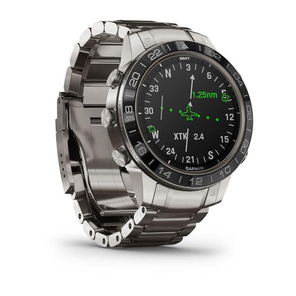 PILOTKLOKKE: Aviator-klokka har funksjoner tilpasset piloter og andre flyinteresserte.