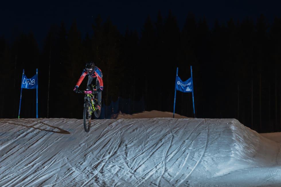 Albin Littorin-Sandbu på vei mot andreplass. Foto: Morten Dodson