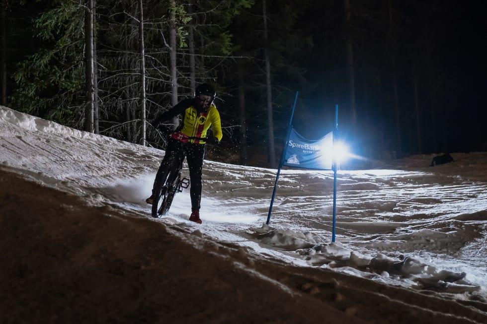 Kari Olstad tok tredjeplassen i dameklassen. Foto: Morten Dodson