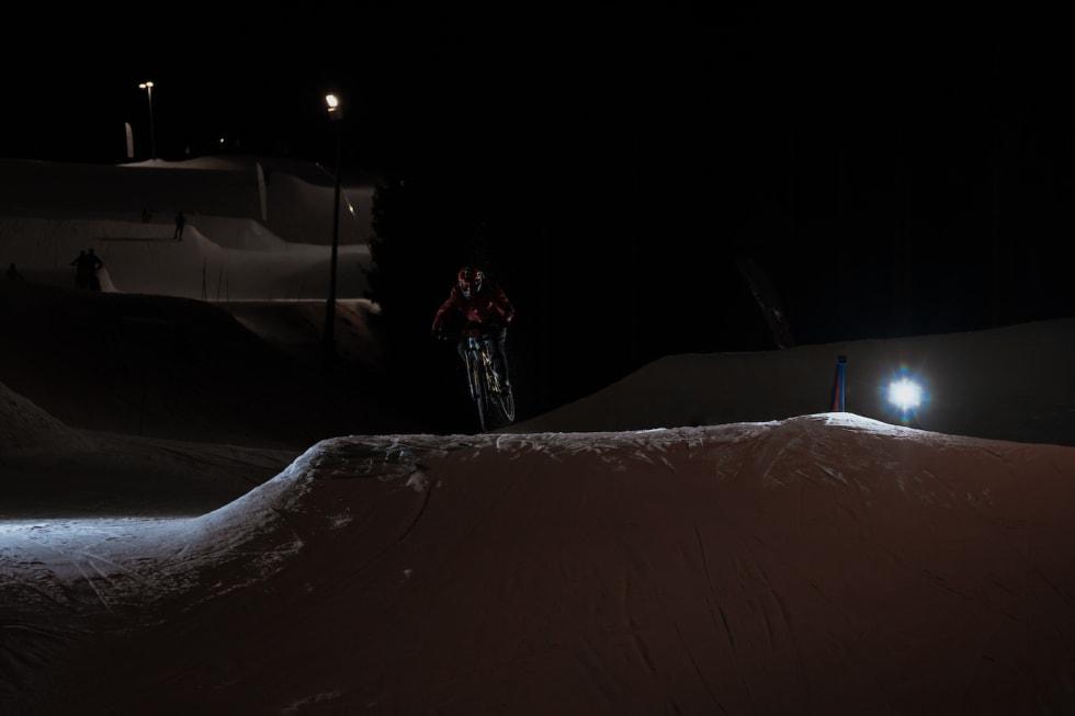Kul for kul inn mot mål for Kristian Nilborg Holiman. Foto: Morten Dodson