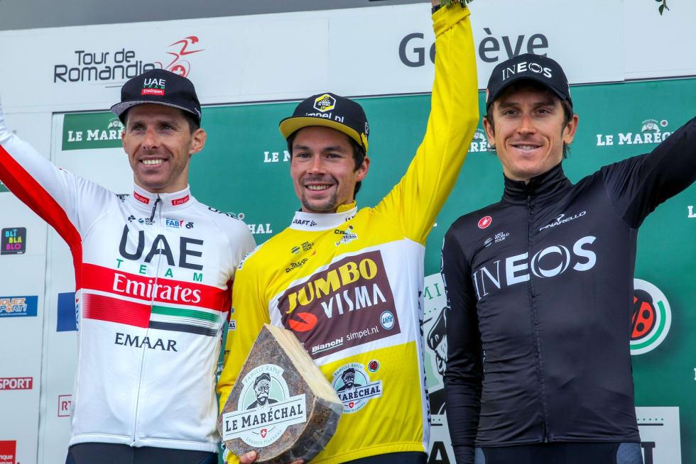 SEIERSVANT: Primoz Roglic har gått fra triumf til triumf i år, blir det en til i Giroen? Foto: Cor Vos.