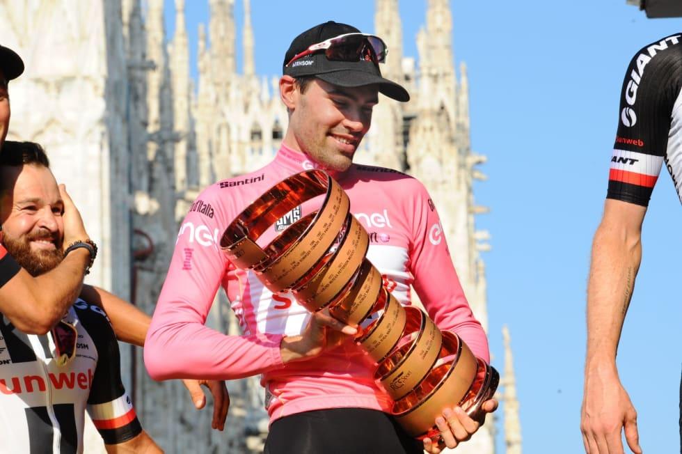 EN GANG TIL?: Tom Dumoulin er klar for å kopiere Giro-seieren fra 2017. Foto: Cor Vos.