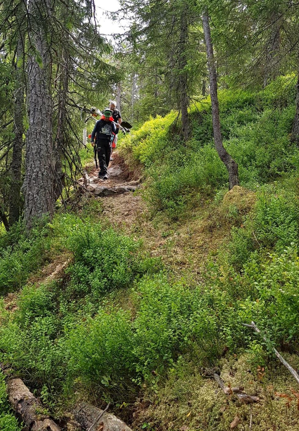Hakadal Enduro 2018 - new trail - Stian T Eilifsen 1200x