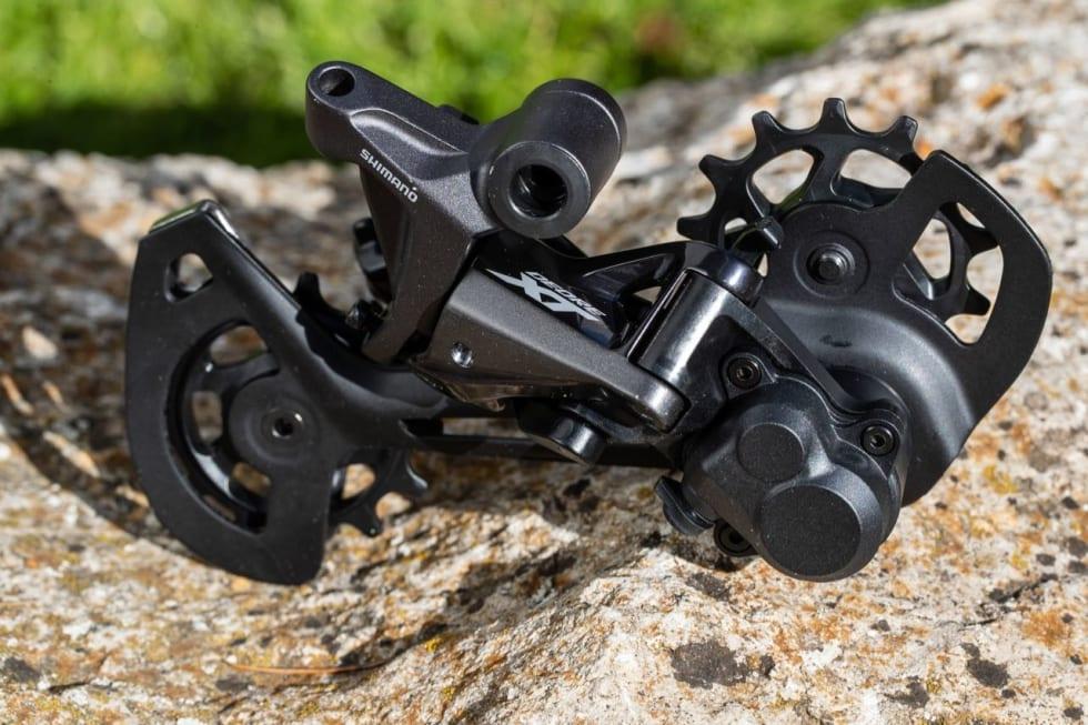 KRAFTIG: Det nye XT-bakgiret er et solid stykke mekanikk. Foto: Irmo Keizer