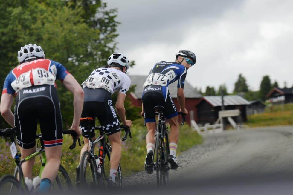 Tobias Johannessen lekte seg med konkurrentene sist han stilte i etapperittet Tour de Hallingdal, som inngår i Norgescupen landevei. Foto: Kent Murdoch
