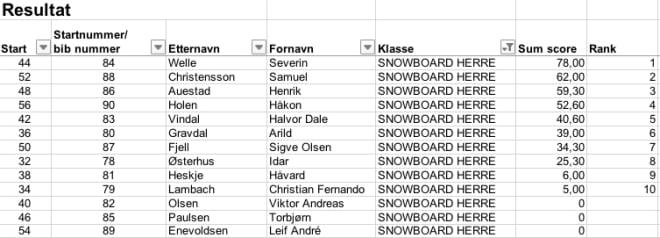 Snow-herrer
