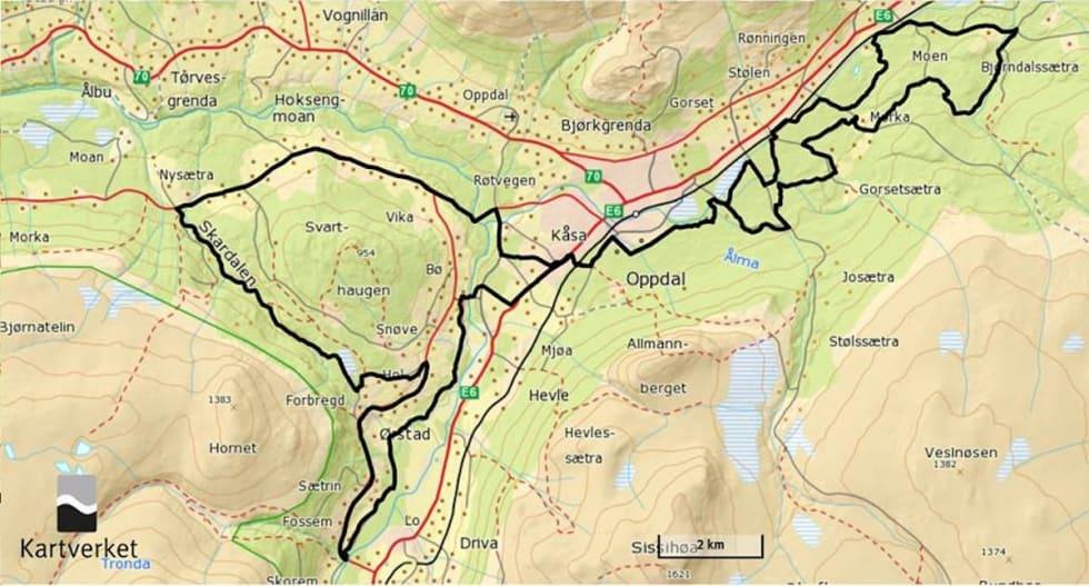 Sykkelenern map - Arrangøren 1200x645