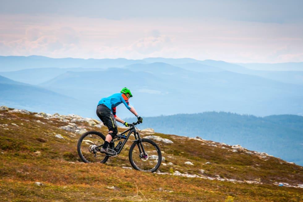 Noen av etappene i Trysil vil bli lagt til Trysilfjellet. Foto: Hans Martin Nysæter