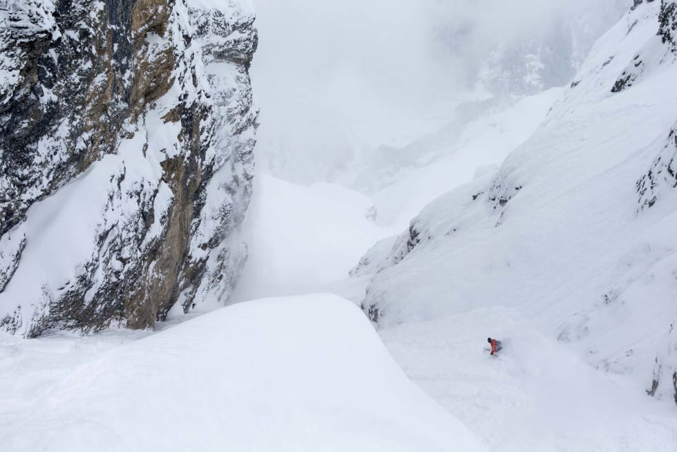 DEN STØRSTE TUREN: Galtiberg er en enorm skitur i krevende omgivelser. En av de som er mer enn kvalifisert for turen er Pep Fujas. Bilde: Oskar Enander