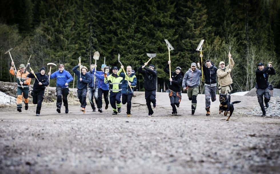 Attacking trailbuilders - Hans Martin Nysæter:Trysil 1400x896