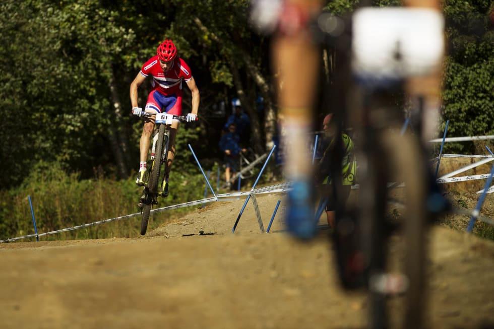 NÆRE TOPPEN: Erik Nordsæter Resell var nære på en topp-ti-plassering, men måte nedpå på sisterunden.