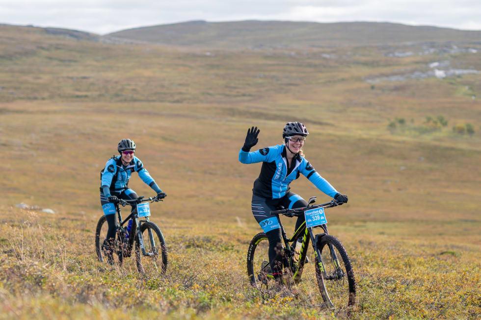 Anita Kivijermi og Jessica Suhr. Foto: Cecilia Emilie Johansen, Frikant/Skaidi Xtreme