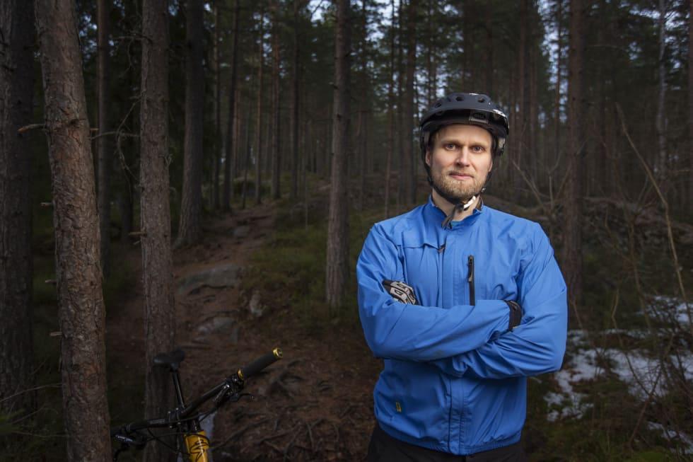 Stian Bergeland har flere år bak seg som leder av NOTS sentralt og på lokalnivå i NOTS Oslo og Omegn før det. Foto: Kristoffer Kippernes