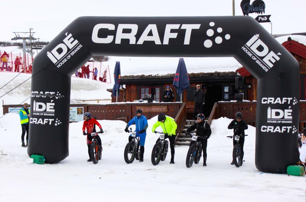 Beito Fatbike Challenge Startline Foto arrangøren 1400x924
