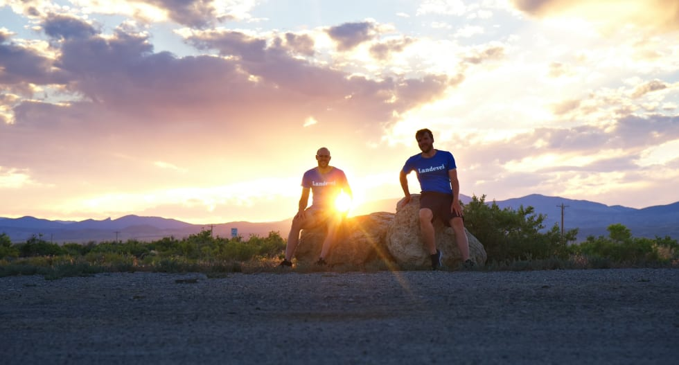 Magisk semning på grensen mellom Nevada og Utah
