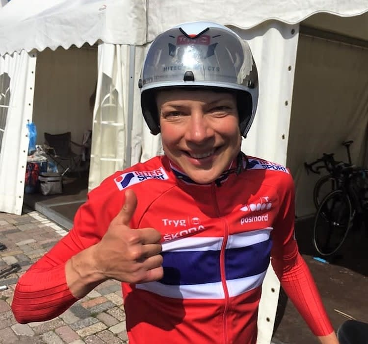 ETT SEKUND: Vita Heine var ett sekund fra bronse på EM-tempoen. Foto: NCF