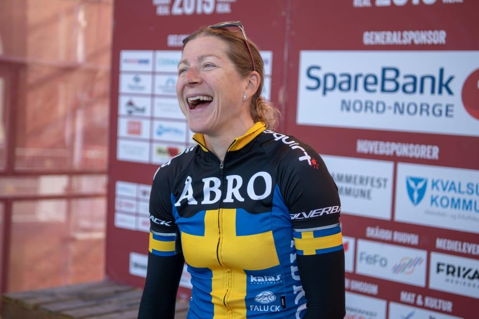 Jennie Stenerhag, årets Birkenvinner, var raskeste dame i Skaidi Xtreme. Foto: Cecilia Emilie Johansen, Frikant/Skaidi Xtreme