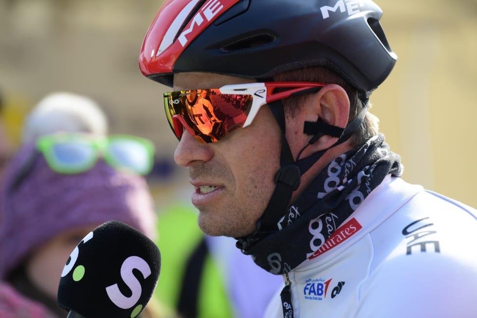 UHELDIG: Tre punkteringer ødela dagen for Alexander Kristoff. FOTO: Cor Vos.