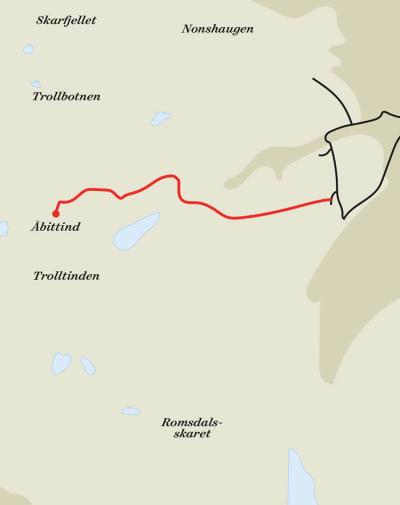Åbittind-rute