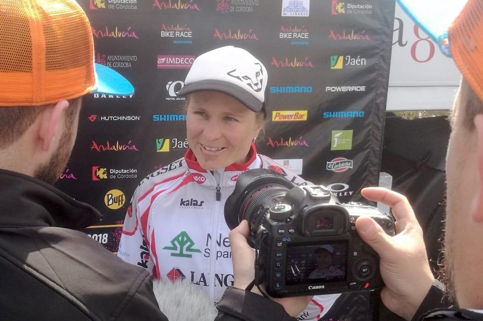 Hildegunn Gjertrud Hovdenak hadde vært på pallen i en rekke maraton i UCI World Series, UCI etapperitt og norske maraton i 2018, men ble likevel ikke vurdert til VM. Foto: Fredrik Millstein