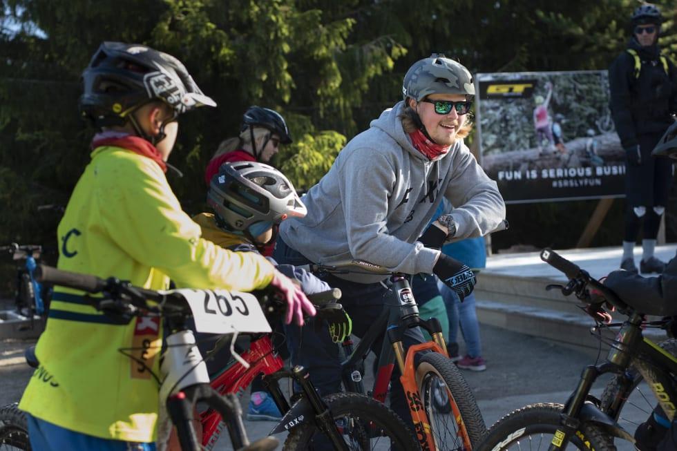 Det blir ny runde med familiedag i GT Bike Park under Bike Out i Trysil denne uka. Foto: Fredrik Otterstad