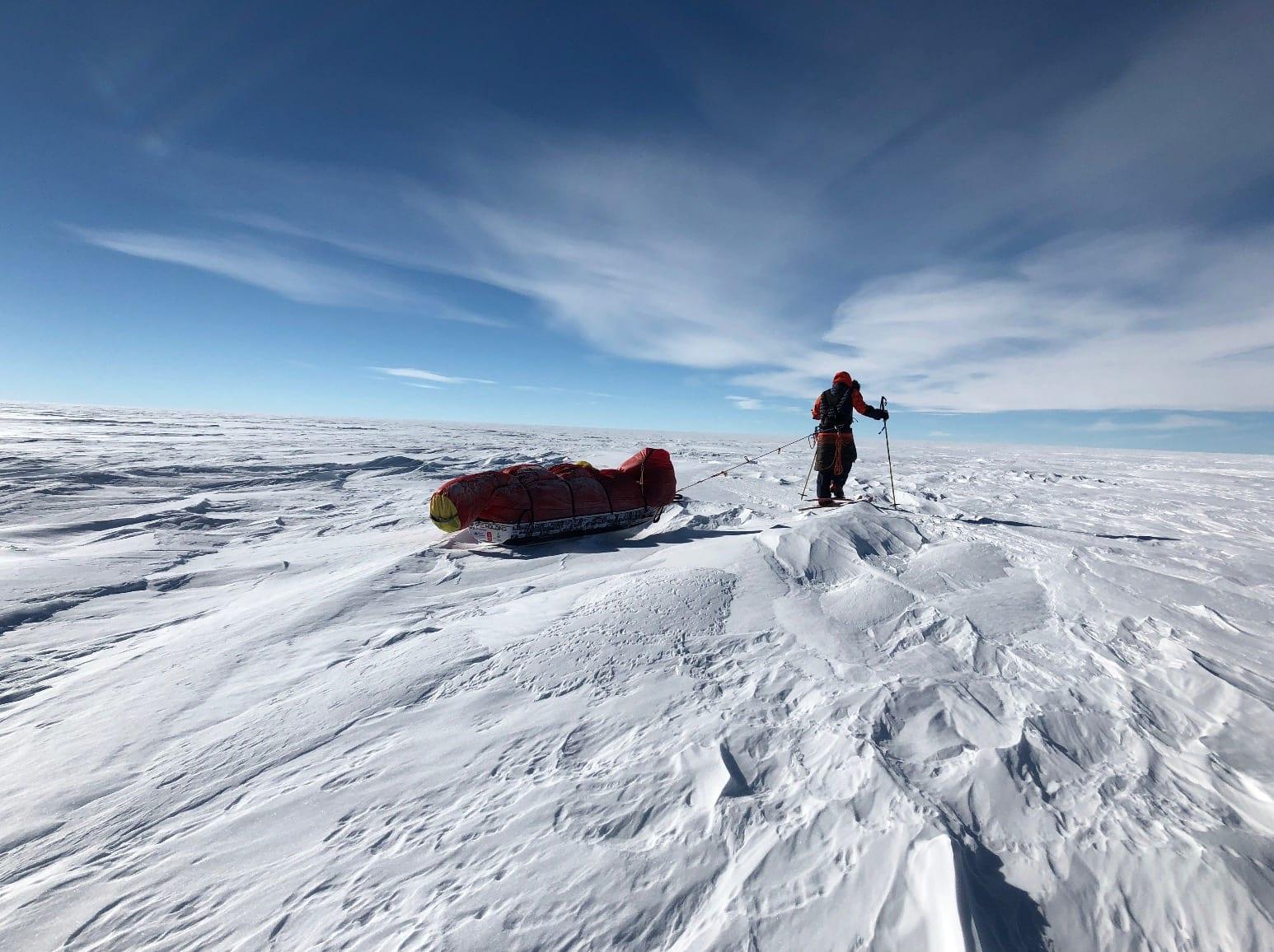 SEIGT: Flatt landskap er ikke helt flatt. Foto: Jan Sverre Sivertsen