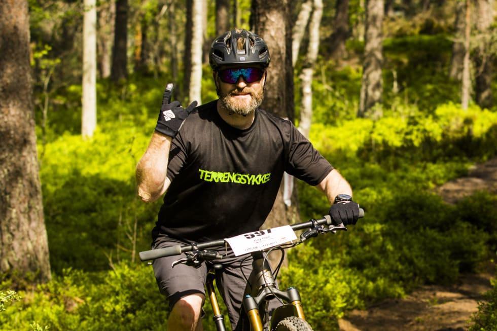Roy Ripe med TS trøya - Per-Eivind Syvertsen