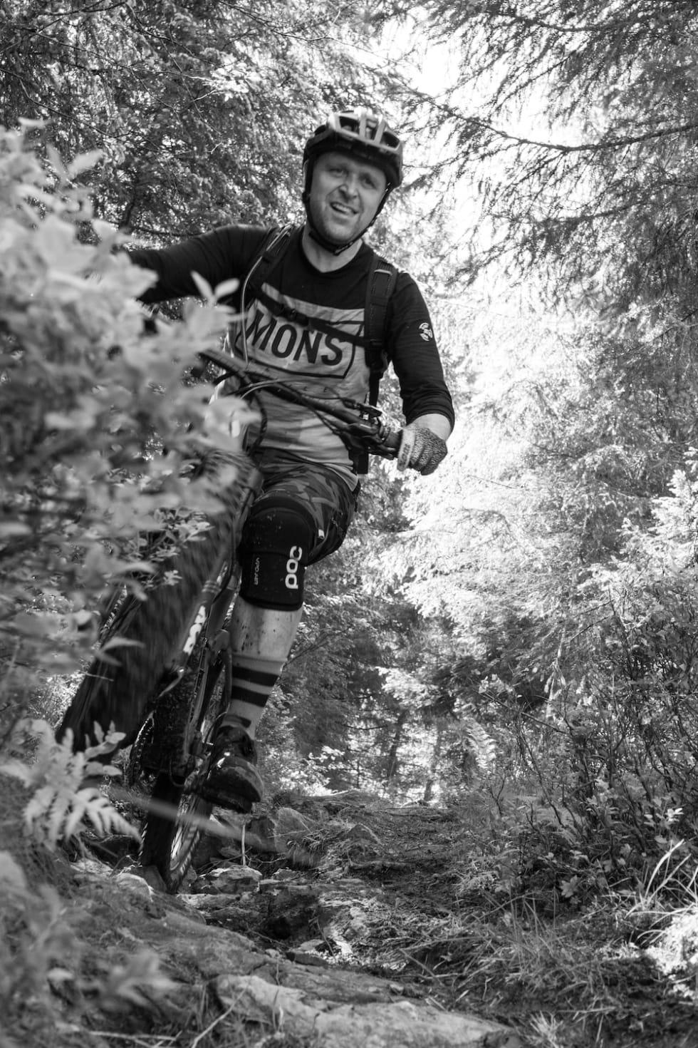 En fin dag i skogen. Foto: Zoltson