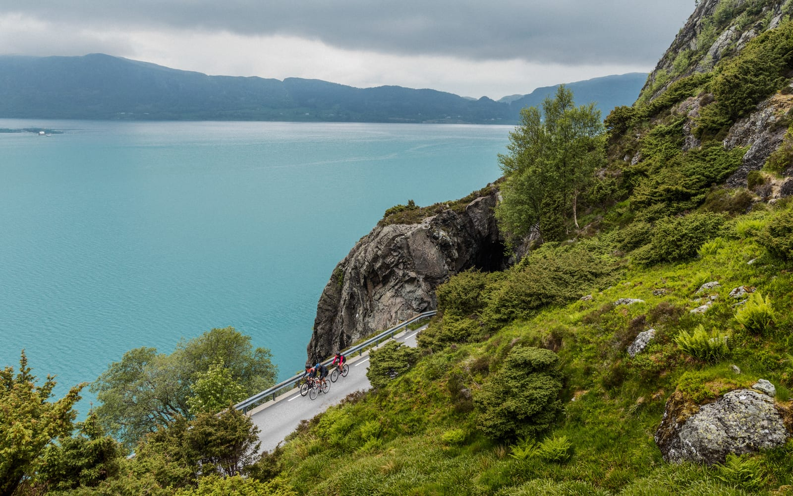 101 KM NYTELSE: Dette vestlandseventyret begynner i Førde og avslutter i Askvoll, med en liten omvei om Naustdal. Bilde: Magnus Roaldset Furset