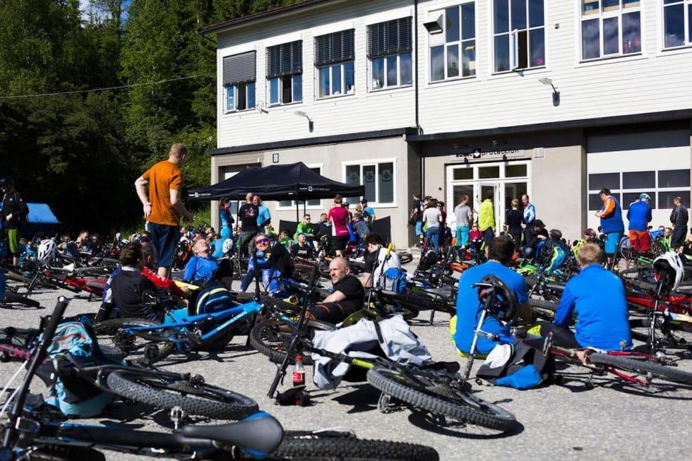 Sweet Afterbike er en tradisjon på Utflukt. Foto: Snorre Veggan