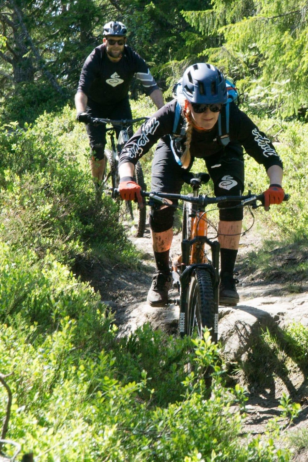 Rett posisjon på sykkelen. Foto: Zoltson