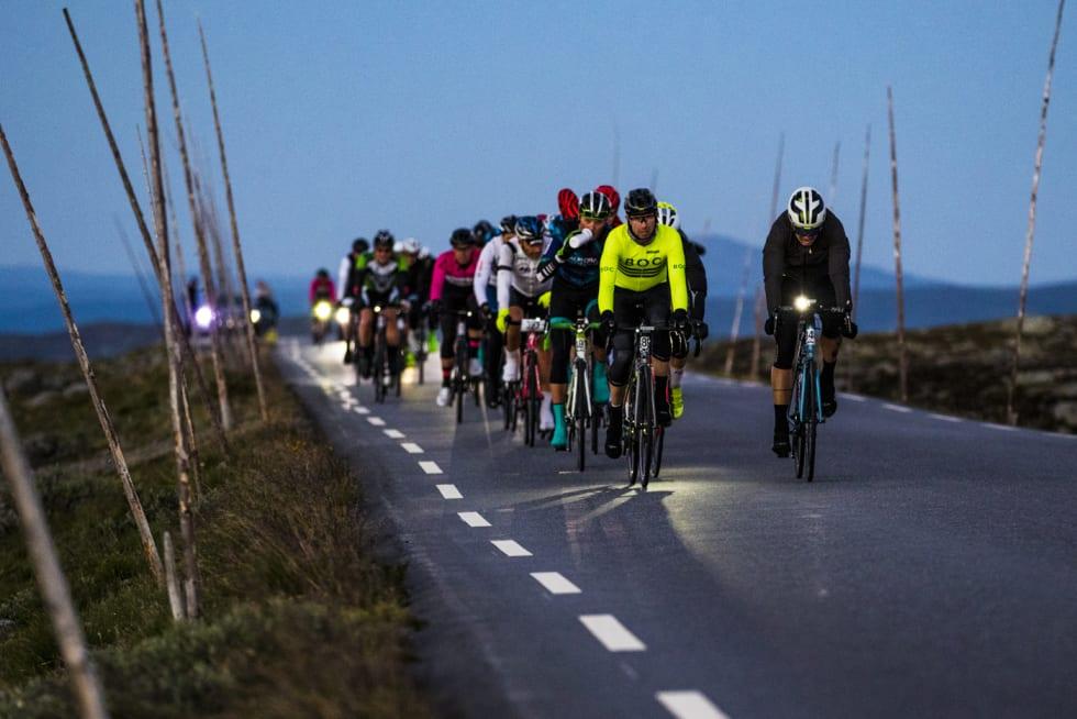 Jotunheimen Rundt 2018 peloton - Per-Eivind Syvertsen