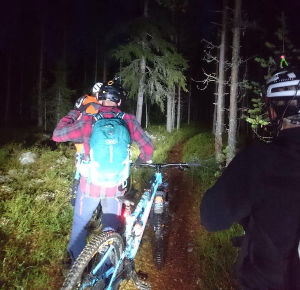 Trysil guide instructor level 2 night guiding - Oct 2018 - foto Nina Gässler 1000x