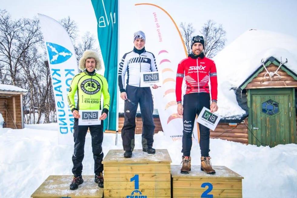 Bjørnar Aronsen - Daniel Boberg Leirbakken - Vidar Mehl - Skaidi Fatbike 2018 - Rino Engdal 1400x933