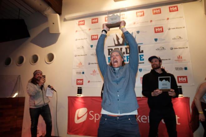 NORGES BESTE: Øystein vant norgescupen i frikjøring sammenlagt i 2018.
