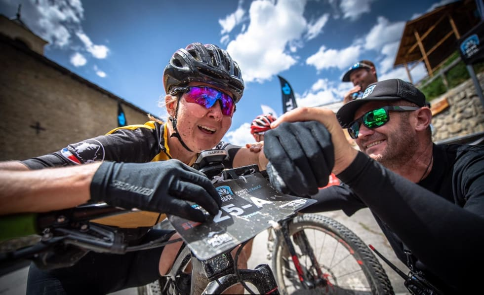 Synne Steinsland vant Alps Epic i juni. Foto: Remi Fabregue