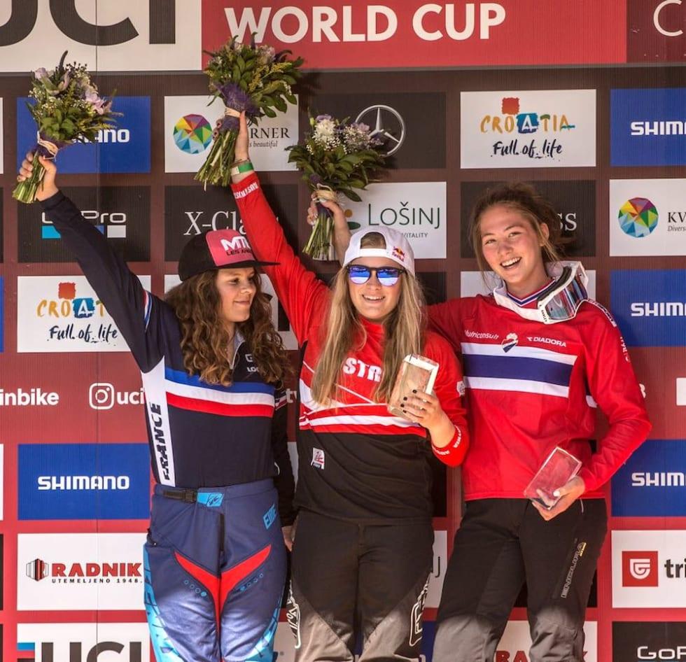 Natasia Gimenez - Valentina Höll - Mille Johnset - WC Croatia 2018 - Sven Martin 1000x